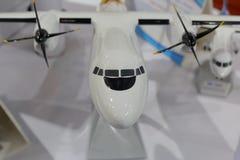 Модель воздушных судн пропеллера сделанная в фарфоре Стоковое Изображение