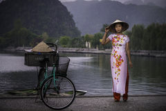 Модель Вьетнама стоковое изображение