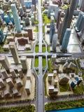 Модель города Стоковые Изображения RF
