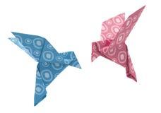 Модель голубя Origami Стоковое Изображение RF