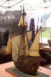 Модель корабля Santa Maria Стоковые Изображения