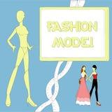 Модель куклы моды Стоковое Изображение RF
