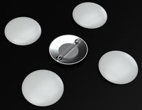 Модель-макеты Pin на темной предпосылке Стоковые Фото
