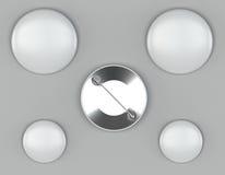 Модель-макеты Pin на яркой предпосылке Стоковые Фотографии RF