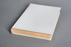 Модель-макет белой книги на серой предпосылке Стоковое Фото