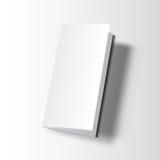 Модель-макет брошюры пустой Стоковые Изображения RF