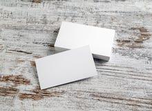 Модель-макет визитных карточек Стоковое фото RF