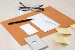 Модель-макет дела papery Стоковые Фотографии RF