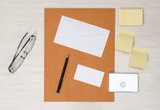 Модель-макет дела papery Стоковое фото RF