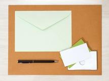 Модель-макет дела papery Стоковые Изображения RF