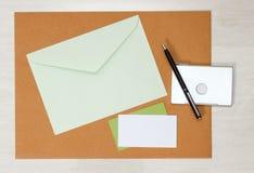 Модель-макет дела papery Стоковая Фотография RF