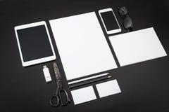 Модель-макет дизайна Letterhead Стоковые Изображения