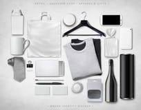 Модель-макет образа бренда Стоковое Фото