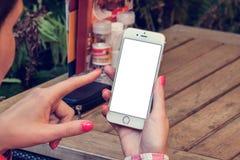Модель-макет телефона 6 Стоковая Фотография RF