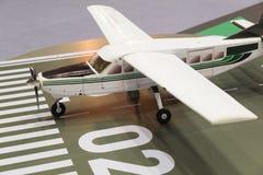 модель миниатюры воздушных судн самолета Стоковые Фото