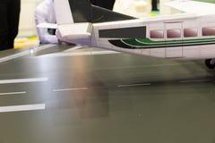 модель миниатюры воздушных судн самолета Стоковое Изображение