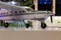модель миниатюры воздушных судн самолета Стоковое фото RF