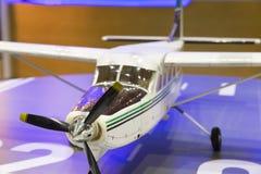 модель миниатюры воздушных судн самолета Стоковая Фотография