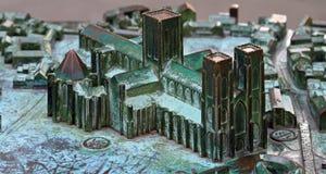 Модель монастырской церкви Йорка Стоковое Изображение RF