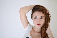 Модель молодой женщины сексуальная Стоковое Фото