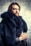 Модель мужчины моды стоковые фотографии rf