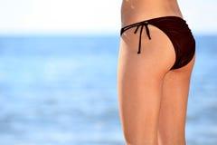 Модель дна бикини Стоковое Изображение