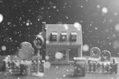 Модель недвижимости дома Стоковые Фотографии RF