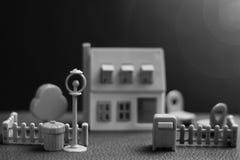 Модель недвижимости дома Стоковые Изображения RF