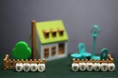 Модель недвижимости дома Стоковая Фотография RF