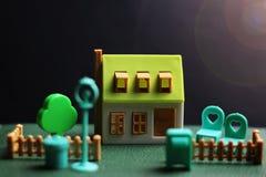 Модель недвижимости дома Стоковые Изображения