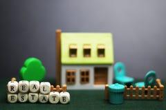 Модель недвижимости дома Стоковое Изображение