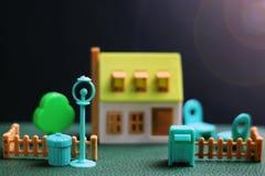 Модель недвижимости дома Стоковое Изображение RF