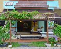 Модель образца переднего магазина кафа Стоковые Фотографии RF