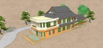 Модель дома Стоковые Фото