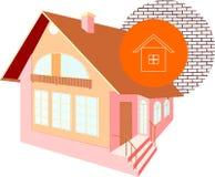 Модель дома Стоковое фото RF