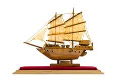 Модель парусного судна Стоковые Изображения RF