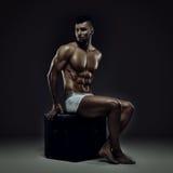 Модель фитнеса Стоковая Фотография RF