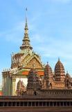 Модель Angkor Wat на грандиозном дворце в Бангкоке, Таиланде Стоковое Фото