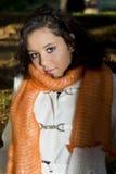 Модель Teenagefemale снаружи Стоковая Фотография RF