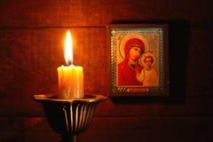 Молитва ночи стоковое фото