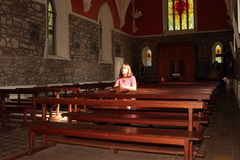 Молитва церков. Стоковые Изображения