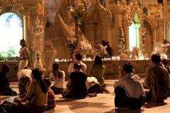 Молитвы буддизма Стоковая Фотография