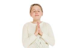 Молить изолированный моделью Стоковые Фото