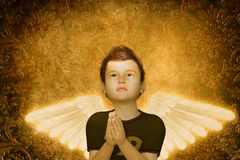 молить ребенка Стоковые Изображения