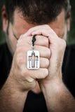 молить человека Стоковые Фото