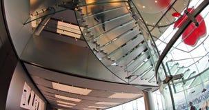 Мол магазина IFC Яблока сток-видео