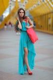 Модная девушка Стоковые Фотографии RF