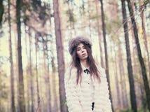 модная женщина Стоковые Фотографии RF