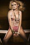 Модная женщина Стоковое Фото