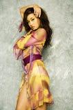 модная милая женщина Стоковое Фото
